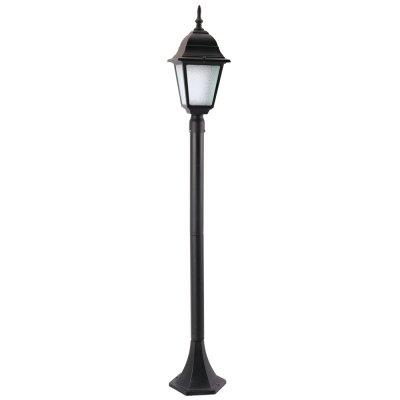 Светильник уличный Arte lamp A1016PA-1BK BremenОдиночные столбы<br>Обеспечение качественного уличного освещения – важная задача для владельцев коттеджей. Компания «Светодом» предлагает современные светильники, которые порадуют Вас отличным исполнением. В нашем каталоге представлена продукция известных производителей, пользующихся популярностью благодаря высокому качеству выпускаемых товаров.   Уличный светильник Arte lamp A1016PA-1BK не просто обеспечит качественное освещение, но и станет украшением Вашего участка. Модель выполнена из современных материалов и имеет влагозащитный корпус, благодаря которому ей не страшны осадки.   Купить уличный светильник Arte lamp A1016PA-1BK, представленный в нашем каталоге, можно с помощью онлайн-формы для заказа. Чтобы задать имеющиеся вопросы, звоните нам по указанным телефонам.<br><br>S освещ. до, м2: 4<br>Тип лампы: накаливания / энергосбережения / LED-светодиодная<br>Тип цоколя: E27<br>Количество ламп: 1<br>Ширина, мм: 150<br>MAX мощность ламп, Вт: 60<br>Диаметр, мм мм: 150<br>Длина, мм: 150<br>Высота, мм: 1200<br>Цвет арматуры: черный