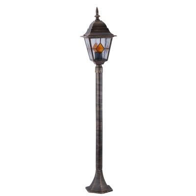 Светильник уличный Arte lamp A1016PA-1BN BerlinОдиночные столбы<br>Обеспечение качественного уличного освещения – важная задача для владельцев коттеджей. Компания «Светодом» предлагает современные светильники, которые порадуют Вас отличным исполнением. В нашем каталоге представлена продукция известных производителей, пользующихся популярностью благодаря высокому качеству выпускаемых товаров. <br> Уличный светильник Arte lamp A1016PA-1BN не просто обеспечит качественное освещение, но и станет украшением Вашего участка. Модель выполнена из современных материалов и имеет влагозащитный корпус, благодаря которому ей не страшны осадки. <br> Купить уличный светильник Arte lamp A1016PA-1BN, представленный в нашем каталоге, можно с помощью онлайн-формы для заказа. Чтобы задать имеющиеся вопросы, звоните нам по указанным телефонам.<br><br>S освещ. до, м2: 7<br>Тип лампы: накаливания / энергосбережения / LED-светодиодная<br>Тип цоколя: E27<br>Цвет арматуры: черно-золотой<br>Количество ламп: 1<br>Ширина, мм: 180<br>Диаметр, мм мм: 180<br>Длина, мм: 180<br>Высота, мм: 1200<br>MAX мощность ламп, Вт: 100
