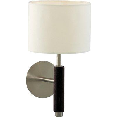 Светильник бра Arte lamp A1038AP-1BK WoodsКлассические<br><br><br>S освещ. до, м2: 3<br>Тип лампы: накаливания / энергосбережения / LED-светодиодная<br>Тип цоколя: E14<br>Количество ламп: 1<br>Ширина, мм: 180<br>MAX мощность ламп, Вт: 40<br>Диаметр, мм мм: 230<br>Высота, мм: 320<br>Цвет арматуры: черный