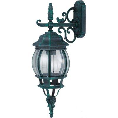 Светильник уличный Arte lamp A1042AL-1BG AtlantaНастенные<br>Обеспечение качественного уличного освещения – важная задача для владельцев коттеджей. Компания «Светодом» предлагает современные светильники, которые порадуют Вас отличным исполнением. В нашем каталоге представлена продукция известных производителей, пользующихся популярностью благодаря высокому качеству выпускаемых товаров.   Уличный светильник Arte lamp A1042AL-1BG не просто обеспечит качественное освещение, но и станет украшением Вашего участка. Модель выполнена из современных материалов и имеет влагозащитный корпус, благодаря которому ей не страшны осадки.   Купить уличный светильник Arte lamp A1042AL-1BG, представленный в нашем каталоге, можно с помощью онлайн-формы для заказа. Чтобы задать имеющиеся вопросы, звоните нам по указанным телефонам.<br><br>S освещ. до, м2: 7<br>Тип лампы: накаливания / энергосбережения / LED-светодиодная<br>Тип цоколя: E27<br>Количество ламп: 1<br>Ширина, мм: 160<br>MAX мощность ламп, Вт: 100<br>Диаметр, мм мм: 230<br>Длина, мм: 230<br>Высота, мм: 550<br>Цвет арматуры: медный