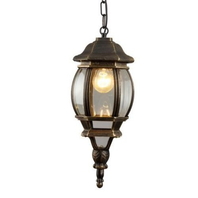 A1045SO-1BN Arte lamp СветильникПодвесные<br><br><br>Тип цоколя: E27<br>Цвет арматуры: ЧЕРНО-ЗОЛОТОЙ<br>Количество ламп: 1<br>Диаметр, мм мм: 160<br>Длина цепи/провода, мм: 500<br>Длина, мм: 160<br>Высота, мм: 380<br>MAX мощность ламп, Вт: 75W<br>Общая мощность, Вт: 75W