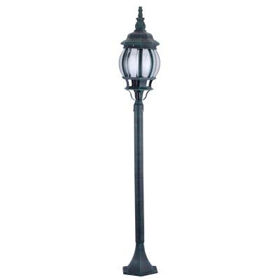 Светильник уличный Arte lamp A1046PA-1BG AtlantaУличные светильники-столбы<br>Обеспечение качественного уличного освещения – важная задача для владельцев коттеджей. Компания «Светодом» предлагает современные светильники, которые порадуют Вас отличным исполнением. В нашем каталоге представлена продукция известных производителей, пользующихся популярностью благодаря высокому качеству выпускаемых товаров. <br> Уличный светильник Arte lamp A1046PA-1BG не просто обеспечит качественное освещение, но и станет украшением Вашего участка. Модель выполнена из современных материалов и имеет влагозащитный корпус, благодаря которому ей не страшны осадки. <br> Купить уличный светильник Arte lamp A1046PA-1BG, представленный в нашем каталоге, можно с помощью онлайн-формы для заказа. Чтобы задать имеющиеся вопросы, звоните нам по указанным телефонам.<br><br>S освещ. до, м2: 7<br>Тип лампы: накаливания / энергосбережения / LED-светодиодная<br>Тип цоколя: E27<br>Цвет арматуры: медный<br>Количество ламп: 1<br>Ширина, мм: 160<br>Диаметр, мм мм: 160<br>Длина, мм: 160<br>Высота, мм: 1200<br>MAX мощность ламп, Вт: 100