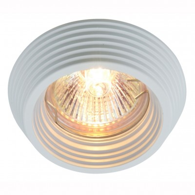 Светильник потолочный Arte lamp A1058PL-1WH CROMOКруглые<br>Встраиваемые светильники – популярное осветительное оборудование, которое можно использовать в качестве основного источника или в дополнение к люстре. Они позволяют создать нужную атмосферу атмосферу и привнести в интерьер уют и комфорт.   Интернет-магазин «Светодом» предлагает стильный встраиваемый светильник ARTE Lamp A1058PL-1WH. Данная модель достаточно универсальна, поэтому подойдет практически под любой интерьер. Перед покупкой не забудьте ознакомиться с техническими параметрами, чтобы узнать тип цоколя, площадь освещения и другие важные характеристики.   Приобрести встраиваемый светильник ARTE Lamp A1058PL-1WH в нашем онлайн-магазине Вы можете либо с помощью «Корзины», либо по контактным номерам. Мы развозим заказы по Москве, Екатеринбургу и остальным российским городам.<br><br>Тип цоколя: gu5.3<br>Цвет арматуры: белый<br>Количество ламп: 1<br>Размеры: H4,2xW8,7xL8,7<br>MAX мощность ламп, Вт: 50