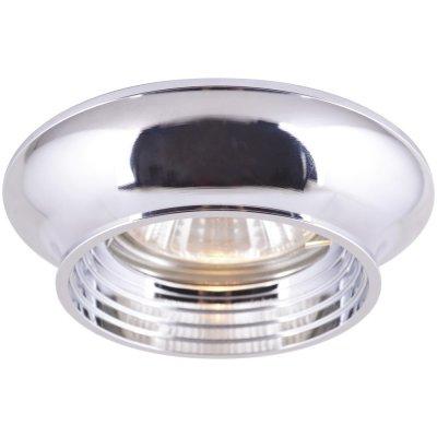 Встраиваемый светильник Arte lamp A1061PL-1CC CromoКруглые<br>Встраиваемые светильники – популярное осветительное оборудование, которое можно использовать в качестве основного источника или в дополнение к люстре. Они позволяют создать нужную атмосферу атмосферу и привнести в интерьер уют и комфорт. <br> Интернет-магазин «Светодом» предлагает стильный встраиваемый светильник ARTE Lamp A1061PL-1CC. Данная модель достаточно универсальна, поэтому подойдет практически под любой интерьер. Перед покупкой не забудьте ознакомиться с техническими параметрами, чтобы узнать тип цоколя, площадь освещения и другие важные характеристики. <br> Приобрести встраиваемый светильник ARTE Lamp A1061PL-1CC в нашем онлайн-магазине Вы можете либо с помощью «Корзины», либо по контактным номерам. Мы доставляем заказы по Москве, Екатеринбургу и остальным российским городам.<br><br>S освещ. до, м2: 4<br>Тип лампы: Галогеновые<br>Тип цоколя: GU10<br>Количество ламп: 1<br>MAX мощность ламп, Вт: 50<br>Диаметр, мм мм: 87<br>Высота, мм: 42<br>Цвет арматуры: серебристый