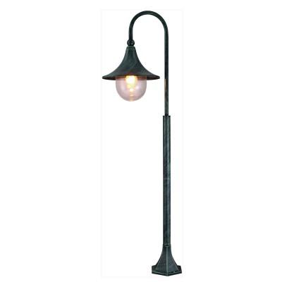 Светильник уличный Arte lamp A1086PA-1BG MalagaОдиночные столбы<br>Обеспечение качественного уличного освещения – важная задача для владельцев коттеджей. Компания «Светодом» предлагает современные светильники, которые порадуют Вас отличным исполнением. В нашем каталоге представлена продукция известных производителей, пользующихся популярностью благодаря высокому качеству выпускаемых товаров. <br> Уличный светильник Arte lamp A1086PA-1BG не просто обеспечит качественное освещение, но и станет украшением Вашего участка. Модель выполнена из современных материалов и имеет влагозащитный корпус, благодаря которому ей не страшны осадки. <br> Купить уличный светильник Arte lamp A1086PA-1BG, представленный в нашем каталоге, можно с помощью онлайн-формы для заказа. Чтобы задать имеющиеся вопросы, звоните нам по указанным телефонам.<br><br>S освещ. до, м2: 7<br>Тип лампы: накаливания / энергосбережения / LED-светодиодная<br>Тип цоколя: E27<br>Цвет арматуры: медный<br>Количество ламп: 1<br>Ширина, мм: 250<br>Диаметр, мм мм: 310<br>Длина, мм: 310<br>Высота, мм: 1200<br>MAX мощность ламп, Вт: 100