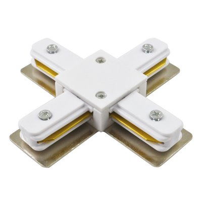 X -Соединитель Arte lamp A110033 Track accessoriesШинопровод<br><br><br>Цвет арматуры: белый