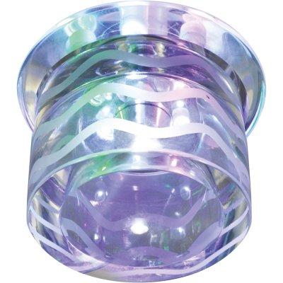 Точечный светильник Arte lamp A1100PL-1CC MeanderХрустальные<br>Встраиваемые светильники – популярное осветительное оборудование, которое можно использовать в качестве основного источника или в дополнение к люстре. Они позволяют создать нужную атмосферу атмосферу и привнести в интерьер уют и комфорт.   Интернет-магазин «Светодом» предлагает стильный встраиваемый светильник ARTE Lamp A1100PL-1CC. Данная модель достаточно универсальна, поэтому подойдет практически под любой интерьер. Перед покупкой не забудьте ознакомиться с техническими параметрами, чтобы узнать тип цоколя, площадь освещения и другие важные характеристики.   Приобрести встраиваемый светильник ARTE Lamp A1100PL-1CC в нашем онлайн-магазине Вы можете либо с помощью «Корзины», либо по контактным номерам. Мы развозим заказы по Москве, Екатеринбургу и остальным российским городам.<br><br>S освещ. до, м2: 1<br>Тип лампы: Светодиодная (LED)<br>Тип цоколя: LED<br>Цвет арматуры: серебристый<br>Количество ламп: 5<br>Диаметр, мм мм: 100<br>Высота, мм: 80<br>Оттенок (цвет): Прозрачный<br>MAX мощность ламп, Вт: 1