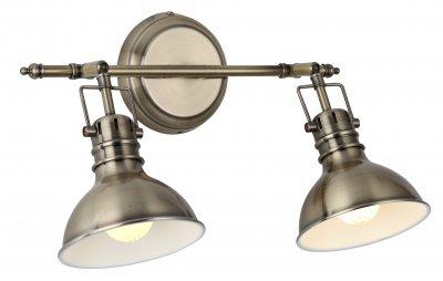 Светильник двойной Arte Lamp A1102AP-2AB фото