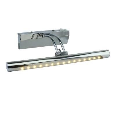 A1103AP-1CC Arte lamp СветильникДля картин<br><br><br>Цветовая t, К: 3000K<br>Тип цоколя: LED<br>Цвет арматуры: Серебристый хром<br>Количество ламп: 1<br>Диаметр, мм мм: 200<br>Размеры: 280MM<br>Длина, мм: 280<br>Высота, мм: 70<br>MAX мощность ламп, Вт: 3W<br>Общая мощность, Вт: 3W