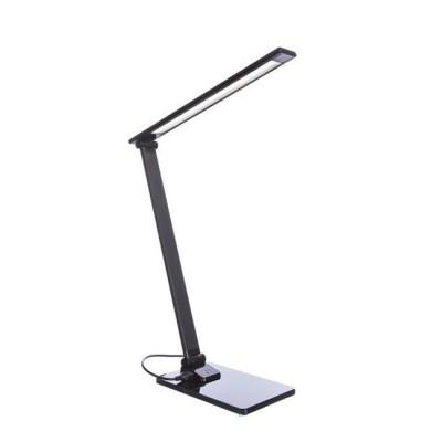 Диодная настольная лампа Arte lamp A1116LT-1BKНастольные лампы хай тек<br><br><br>Тип лампы: LED - светодиодная<br>Тип цоколя: LED, встроенные светодиоды<br>Цвет арматуры: черный<br>Количество ламп: 1<br>Ширина, мм: 110<br>Длина, мм: 160<br>Высота, мм: 370<br>Поверхность арматуры: глянцевая<br>Оттенок (цвет): черный<br>MAX мощность ламп, Вт: 7