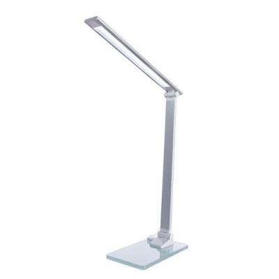 Диодная настольная лампа Arte lamp A1116LT-1WHНастольные лампы хай тек<br><br><br>Тип лампы: LED - светодиодная<br>Тип цоколя: LED, встроенные светодиоды<br>Цвет арматуры: белый<br>Количество ламп: 1<br>Ширина, мм: 110<br>Длина, мм: 160<br>Высота, мм: 370<br>Поверхность арматуры: матовая<br>Оттенок (цвет): белый<br>MAX мощность ламп, Вт: 7