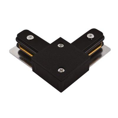 L -Соединитель Arte lamp A120006 Track accessoriesШинопровод<br><br><br>Цвет арматуры: черный
