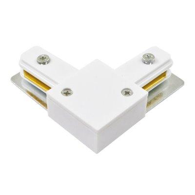 L -Соединитель Arte lamp A120033 Track accessoriesШинопровод<br><br><br>Цвет арматуры: белый
