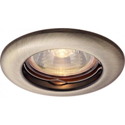 Светильник потолочный Arte lamp A1203PL-1AB PRAKTISCHКруглые<br>Встраиваемые светильники – популярное осветительное оборудование, которое можно использовать в качестве основного источника или в дополнение к люстре. Они позволяют создать нужную атмосферу атмосферу и привнести в интерьер уют и комфорт.   Интернет-магазин «Светодом» предлагает стильный встраиваемый светильник ARTE Lamp A1203PL-1AB. Данная модель достаточно универсальна, поэтому подойдет практически под любой интерьер. Перед покупкой не забудьте ознакомиться с техническими параметрами, чтобы узнать тип цоколя, площадь освещения и другие важные характеристики.   Приобрести встраиваемый светильник ARTE Lamp A1203PL-1AB в нашем онлайн-магазине Вы можете либо с помощью «Корзины», либо по контактным номерам. Мы развозим заказы по Москве, Екатеринбургу и остальным российским городам.<br><br>Тип цоколя: GU10<br>Цвет арматуры: бронзовый<br>Количество ламп: 1<br>Размеры: H3,2xW8,2xL8,2<br>MAX мощность ламп, Вт: 50