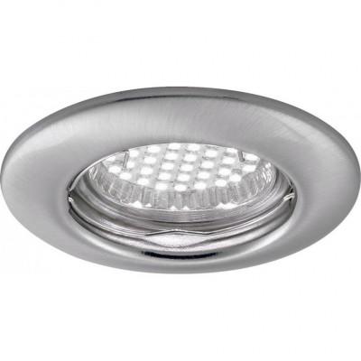 Светильник потолочный Arte lamp A1203PL-1SS PRAKTISCHКруглые<br>Встраиваемые светильники – популярное осветительное оборудование, которое можно использовать в качестве основного источника или в дополнение к люстре. Они позволяют создать нужную атмосферу атмосферу и привнести в интерьер уют и комфорт.   Интернет-магазин «Светодом» предлагает стильный встраиваемый светильник ARTE Lamp A1203PL-1SS. Данная модель достаточно универсальна, поэтому подойдет практически под любой интерьер. Перед покупкой не забудьте ознакомиться с техническими параметрами, чтобы узнать тип цоколя, площадь освещения и другие важные характеристики.   Приобрести встраиваемый светильник ARTE Lamp A1203PL-1SS в нашем онлайн-магазине Вы можете либо с помощью «Корзины», либо по контактным номерам. Мы развозим заказы по Москве, Екатеринбургу и остальным российским городам.<br><br>Тип цоколя: GU10<br>Количество ламп: 1<br>MAX мощность ламп, Вт: 50<br>Размеры: H3,2xW8,2xL8,2<br>Цвет арматуры: серебристый