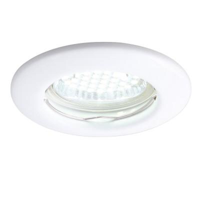 Светильник потолочный Arte lamp A1203PL-1WH PRAKTISCHКруглые<br>Встраиваемые светильники – популярное осветительное оборудование, которое можно использовать в качестве основного источника или в дополнение к люстре. Они позволяют создать нужную атмосферу атмосферу и привнести в интерьер уют и комфорт. <br> Интернет-магазин «Светодом» предлагает стильный встраиваемый светильник ARTE Lamp A1203PL-1WH. Данная модель достаточно универсальна, поэтому подойдет практически под любой интерьер. Перед покупкой не забудьте ознакомиться с техническими параметрами, чтобы узнать тип цоколя, площадь освещения и другие важные характеристики. <br> Приобрести встраиваемый светильник ARTE Lamp A1203PL-1WH в нашем онлайн-магазине Вы можете либо с помощью «Корзины», либо по контактным номерам. Мы развозим заказы по Москве, Екатеринбургу и остальным российским городам.<br><br>Тип цоколя: GU10<br>Цвет арматуры: белый<br>Количество ламп: 1<br>Размеры: H3,2xW8,2xL8,2<br>MAX мощность ламп, Вт: 50
