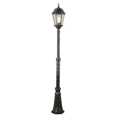 Светильник столб уличный Arte lamp A1207PA-1BS GenovaБольшие фонари<br>Обеспечение качественного уличного освещения – важная задача для владельцев коттеджей. Компания «Светодом» предлагает современные светильники, которые порадуют Вас отличным исполнением. В нашем каталоге представлена продукция известных производителей, пользующихся популярностью благодаря высокому качеству выпускаемых товаров.   Уличный светильник Arte lamp A1207PA-1BS не просто обеспечит качественное освещение, но и станет украшением Вашего участка. Модель выполнена из современных материалов и имеет влагозащитный корпус, благодаря которому ей не страшны осадки.   Купить уличный светильник Arte lamp A1207PA-1BS, представленный в нашем каталоге, можно с помощью онлайн-формы для заказа. Чтобы задать имеющиеся вопросы, звоните нам по указанным телефонам.<br><br>S освещ. до, м2: 7<br>Тип лампы: накаливания / энергосбережения / LED-светодиодная<br>Тип цоколя: E27<br>Количество ламп: 1<br>Ширина, мм: 240<br>Диаметр, мм мм: 240<br>Высота, мм: 2100<br>MAX мощность ламп, Вт: 100