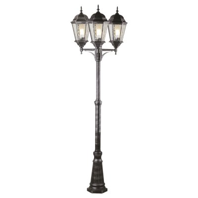 Светильник столб уличный Arte lamp A1207PA-3BS GenovaБольшие фонари<br>Обеспечение качественного уличного освещения – важная задача для владельцев коттеджей. Компания «Светодом» предлагает современные светильники, которые порадуют Вас отличным исполнением. В нашем каталоге представлена продукция известных производителей, пользующихся популярностью благодаря высокому качеству выпускаемых товаров.   Уличный светильник Arte lamp A1207PA-3BS не просто обеспечит качественное освещение, но и станет украшением Вашего участка. Модель выполнена из современных материалов и имеет влагозащитный корпус, благодаря которому ей не страшны осадки.   Купить уличный светильник Arte lamp A1207PA-3BS, представленный в нашем каталоге, можно с помощью онлайн-формы для заказа. Чтобы задать имеющиеся вопросы, звоните нам по указанным телефонам.<br><br>S освещ. до, м2: 20<br>Тип лампы: накаливания / энергосбережения / LED-светодиодная<br>Тип цоколя: E27<br>Количество ламп: 3<br>Ширина, мм: 650<br>MAX мощность ламп, Вт: 100<br>Диаметр, мм мм: 650<br>Высота, мм: 2300