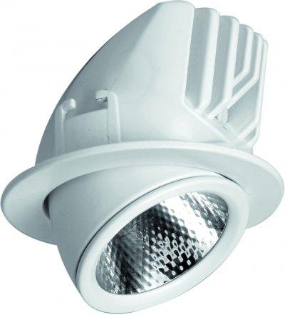 Светильник потолочный Arte lamp A1212PL-1WH CARDANIКруглые LED<br>Встраиваемые светильники – популярное осветительное оборудование, которое можно использовать в качестве основного источника или в дополнение к люстре. Они позволяют создать нужную атмосферу атмосферу и привнести в интерьер уют и комфорт.   Интернет-магазин «Светодом» предлагает стильный встраиваемый светильник ARTE Lamp A1212PL-1WH. Данная модель достаточно универсальна, поэтому подойдет практически под любой интерьер. Перед покупкой не забудьте ознакомиться с техническими параметрами, чтобы узнать тип цоколя, площадь освещения и другие важные характеристики.   Приобрести встраиваемый светильник ARTE Lamp A1212PL-1WH в нашем онлайн-магазине Вы можете либо с помощью «Корзины», либо по контактным номерам. Мы развозим заказы по Москве, Екатеринбургу и остальным российским городам.<br><br>Цвет арматуры: белый<br>Размеры: H5,5xW8,9xL8,9