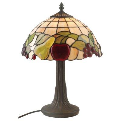 Настольная лампа тиффани Arte lamp A1232LT-1BG FRUITSТиффани<br>Настольная лампа – это не просто источник дополнительного освещения, но и оригинальный элемент декора. Его можно установить в спальне, гостиной, кабинете и других комнатах. Интернет-магазин «Светодом» предлагает настольные лампы разных стилей по доступным ценам. Благодаря большому ассортименту Вы обязательно найдете в нашем каталоге именно ту модель, которую искали.   Настольная лампа Arte lamp A1232LT-1BG – прекрасный вариант для завершения интерьера. Ее можно включить одновременно с люстрой для более яркого освещения или без нее для создания уютной атмосферы, настраивающей на отдых.   Купить настольную лампу Arte lamp A1232LT-1BG Вы можете с помощью виртуальной «Корзины» или по контактным номерам, указанным на сайте.<br><br>Тип цоколя: E27<br>Количество ламп: 1<br>Диаметр, мм мм: 310<br>Высота, мм: 450<br>MAX мощность ламп, Вт: 60