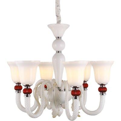 Люстра потолочная Arte lamp A1270LM-6CC CornoПодвесные<br>Компания «Светодом» предлагает широкий ассортимент люстр от известных производителей. Представленные в нашем каталоге товары выполнены из современных материалов и обладают отличным качеством. Благодаря широкому ассортименту Вы сможете найти у нас люстру под любой интерьер. Мы предлагаем как классические варианты, так и современные модели, отличающиеся лаконичностью и простотой форм.  Стильная люстра Arte lamp A1270LM-6CC станет украшением любого дома. Эта модель от известного производителя не оставит равнодушным ценителей красивых и оригинальных предметов интерьера. Люстра Arte lamp A1270LM-6CC обеспечит равномерное распределение света по всей комнате. При выборе обратите внимание на характеристики, позволяющие приобрести наиболее подходящую модель. Купить понравившуюся люстру по доступной цене Вы можете в интернет-магазине «Светодом». Мы предлагаем доставку не только по Москве и Екатеринбурге, но и по всей России.<br><br>Установка на натяжной потолок: Да<br>S освещ. до, м2: 18<br>Крепление: Крюк<br>Тип лампы: накаливания / энергосбережения / LED-светодиодная<br>Тип цоколя: E14<br>Количество ламп: 6<br>MAX мощность ламп, Вт: 60<br>Диаметр, мм мм: 710<br>Длина цепи/провода, мм: 1000<br>Высота, мм: 600<br>Оттенок (цвет): белый<br>Цвет арматуры: серебристый