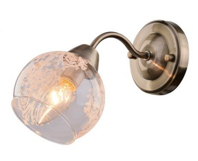 Светильник Arte lamp A1292AP-1AB MARTINAМодерн<br><br><br>Тип товара: Светильник настенный бра<br>Тип лампы: Накаливания / энергосбережения / светодиодная<br>Тип цоколя: E14<br>Количество ламп: 1<br>MAX мощность ламп, Вт: 40<br>Размеры: H18xW23xL11<br>Цвет арматуры: бронзовый