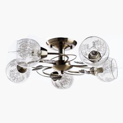 Светильник потолочный Arte lamp A1292PL-5AB MARTINAПод заказ<br>Компания «Светодом» предлагает широкий ассортимент люстр от известных производителей. Представленные в нашем каталоге товары выполнены из современных материалов и обладают отличным качеством. Благодаря широкому ассортименту Вы сможете найти у нас люстру под любой интерьер. Мы предлагаем как классические варианты, так и современные модели, отличающиеся лаконичностью и простотой форм.  Стильная люстра Arte lamp A1292PL-5AB станет украшением любого дома. Эта модель от известного производителя не оставит равнодушным ценителей красивых и оригинальных предметов интерьера. Люстра Arte lamp A1292PL-5AB обеспечит равномерное распределение света по всей комнате. При выборе обратите внимание на характеристики, позволяющие приобрести наиболее подходящую модель. Купить понравившуюся люстру по доступной цене Вы можете в интернет-магазине «Светодом». Мы предлагаем доставку не только по Москве и Екатеринбурге, но и по всей России.<br><br>Установка на натяжной потолок: Ограничено<br>S освещ. до, м2: 10<br>Крепление: Планка<br>Тип лампы: Накаливания / энергосбережения / светодиодная<br>Тип цоколя: E14<br>Цвет арматуры: бронзовый<br>Количество ламп: 5<br>Размеры: H33xW60xL60<br>MAX мощность ламп, Вт: 40