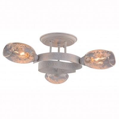 Светильник Arte lamp A1296PL-3WG BETTINAПотолочные<br>Компания «Светодом» предлагает широкий ассортимент люстр от известных производителей. Представленные в нашем каталоге товары выполнены из современных материалов и обладают отличным качеством. Благодаря широкому ассортименту Вы сможете найти у нас люстру под любой интерьер. Мы предлагаем как классические варианты, так и современные модели, отличающиеся лаконичностью и простотой форм. <br>Стильная люстра Arte lamp A1296PL-3WG станет украшением любого дома. Эта модель от известного производителя не оставит равнодушным ценителей красивых и оригинальных предметов интерьера. Люстра Arte lamp A1296PL-3WG обеспечит равномерное распределение света по всей комнате. При выборе обратите внимание на характеристики, позволяющие приобрести наиболее подходящую модель. <br>Купить понравившуюся люстру по доступной цене Вы можете в интернет-магазине «Светодом».<br><br>Установка на натяжной потолок: Ограничено<br>S освещ. до, м2: 6<br>Крепление: Планка<br>Тип лампы: Накаливания / энергосбережения / светодиодная<br>Тип цоколя: E14<br>Количество ламп: 3<br>MAX мощность ламп, Вт: 40<br>Размеры: H20xW55xL55<br>Цвет арматуры: белый с золотистой патиной