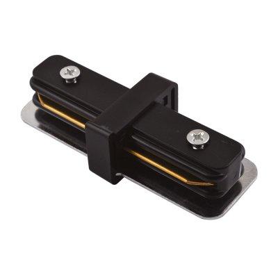 Линейный соединитель Arte lamp A130006 Track accessoriesШинопровод<br><br><br>Цвет арматуры: черный