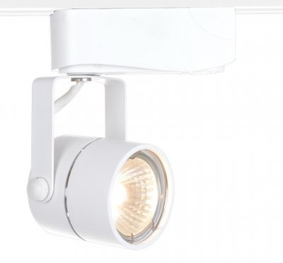 Светильник для трека Arte lamp A1310PL-1WH TRACK LIGHTSСветильники для трека<br><br><br>Тип цоколя: GU10<br>Цвет арматуры: белый<br>Размеры: H14xW6xL8<br>MAX мощность ламп, Вт: 50