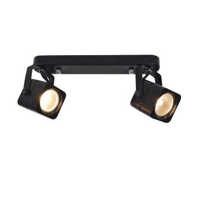 A1314PL-2BK Arte lamp СветильникДвойные<br><br><br>S освещ. до, м2: 5<br>Тип цоколя: GU10<br>Цвет арматуры: ЧЕРНЫЙ<br>Количество ламп: 2<br>Диаметр, мм мм: 70<br>Размеры: L182*H115mm<br>Длина, мм: 260<br>Высота, мм: 150<br>MAX мощность ламп, Вт: 50W<br>Общая мощность, Вт: 50W