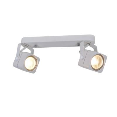 A1314PL-2WH Arte lamp СветильникДвойные<br><br><br>Тип цоколя: GU10<br>Количество ламп: 2<br>MAX мощность ламп, Вт: 50W<br>Диаметр, мм мм: 70<br>Размеры: L182*H115mm<br>Длина, мм: 260<br>Высота, мм: 150<br>Цвет арматуры: БЕЛЫЙ<br>Общая мощность, Вт: 50W