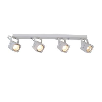 Светильник потолочный Arte lamp A1314PL-4WH LENTEспоты 4 лампы<br>Светильник потолочный Arte lamp A1314PL-4WH LENTE отличается поворотной способностью регулировки светового потока и сделает Ваше помещение современным, стильным и запоминающимся! Наиболее функционально и эстетически привлекательно модель будет смотреться в гостиной, зале, холле или другой комнате. А в комплекте с люстрой, бра или торшером из этой же коллекции сделает интерьер по-дизайнерски профессиональным и законченным.