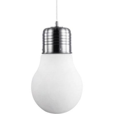 Подвесной светильник Arte lamp A1402SP-1SS EdisonОдиночные<br>Подвесной светильник – это универсальный вариант, подходящий для любой комнаты. Сегодня производители предлагают огромный выбор таких моделей по самым разным ценам. В каталоге интернет-магазина «Светодом» мы собрали большое количество интересных и оригинальных светильников по выгодной стоимости. Вы можете приобрести их в Москве, Екатеринбурге и любом другом городе России. <br>Подвесной светильник ARTELamp A1402SP-1SS сразу же привлечет внимание Ваших гостей благодаря стильному исполнению. Благородный дизайн позволит использовать эту модель практически в любом интерьере. Она обеспечит достаточно света и при этом легко монтируется. Чтобы купить подвесной светильник ARTELamp A1402SP-1SS, воспользуйтесь формой на нашем сайте или позвоните менеджерам интернет-магазина.<br><br>S освещ. до, м2: 2<br>Крепление: монтажная пластина<br>Тип лампы: накаливания / энергосбережения / LED-светодиодная<br>Тип цоколя: E27<br>Цвет арматуры: серый<br>Количество ламп: 1<br>Диаметр, мм мм: 190<br>Длина цепи/провода, мм: 900<br>Высота, мм: 330<br>Оттенок (цвет): белый<br>MAX мощность ламп, Вт: 40