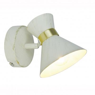 Светильник настенный бра Arte lamp A1406AP-1WG BALTIMOREОдиночные<br>Светильники-споты – это оригинальные изделия с современным дизайном. Они позволяют не ограничивать свою фантазию при выборе освещения для интерьера. Такие модели обеспечивают достаточно качественный свет. Благодаря компактным размерам Вы можете использовать несколько спотов для одного помещения.  Интернет-магазин «Светодом» предлагает необычный светильник-спот ARTE Lamp A1406AP-1WG по привлекательной цене. Эта модель станет отличным дополнением к люстре, выполненной в том же стиле. Перед оформлением заказа изучите характеристики изделия.  Купить светильник-спот ARTE Lamp A1406AP-1WG в нашем онлайн-магазине Вы можете либо с помощью формы на сайте, либо по указанным выше телефонам. Обратите внимание, что у нас склады не только в Москве и Екатеринбурге, но и других городах России.<br><br>Тип лампы: Накаливания / энергосбережения / светодиодная<br>Тип цоколя: E14<br>Количество ламп: 1<br>MAX мощность ламп, Вт: 40<br>Размеры: H20xW10xL10<br>Цвет арматуры: белый с золотистой патиной