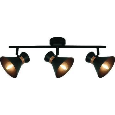Светильник потолочный Arte lamp A1406PL-3BK BALTIMOREТройные<br>Светильники-споты – это оригинальные изделия с современным дизайном. Они позволяют не ограничивать свою фантазию при выборе освещения для интерьера. Такие модели обеспечивают достаточно качественный свет. Благодаря компактным размерам Вы можете использовать несколько спотов для одного помещения.  Интернет-магазин «Светодом» предлагает необычный светильник-спот ARTE Lamp A1406PL-3BK по привлекательной цене. Эта модель станет отличным дополнением к люстре, выполненной в том же стиле. Перед оформлением заказа изучите характеристики изделия.  Купить светильник-спот ARTE Lamp A1406PL-3BK в нашем онлайн-магазине Вы можете либо с помощью формы на сайте, либо по указанным выше телефонам. Обратите внимание, что у нас склады не только в Москве и Екатеринбурге, но и других городах России.<br><br>S освещ. до, м2: 6<br>Тип цоколя: E14<br>Цвет арматуры: черный<br>Количество ламп: 3<br>Размеры: H20xW10xL10<br>MAX мощность ламп, Вт: 40