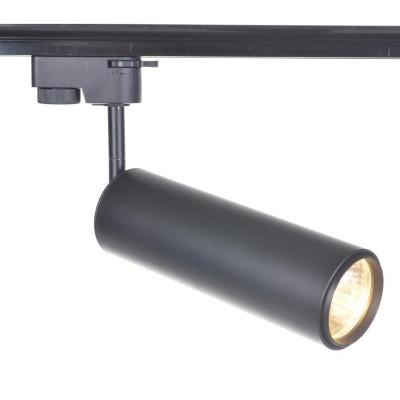 Светильник потолочный Arte lamp A1412PL-1BK TRACK LIGHTSСветильники для трека<br><br><br>Тип цоколя: E27<br>MAX мощность ламп, Вт: 12<br>Размеры: H21xW6xL18<br>Цвет арматуры: черный
