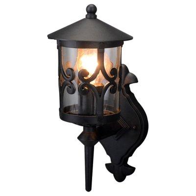 Уличный светильник Arte lamp A1451AL-1BK PersiaНастенные<br>Обеспечение качественного уличного освещения – важная задача для владельцев коттеджей. Компания «Светодом» предлагает современные светильники, которые порадуют Вас отличным исполнением. В нашем каталоге представлена продукция известных производителей, пользующихся популярностью благодаря высокому качеству выпускаемых товаров.   Уличный светильник Arte lamp A1451AL-1BK не просто обеспечит качественное освещение, но и станет украшением Вашего участка. Модель выполнена из современных материалов и имеет влагозащитный корпус, благодаря которому ей не страшны осадки.   Купить уличный светильник Arte lamp A1451AL-1BK, представленный в нашем каталоге, можно с помощью онлайн-формы для заказа. Чтобы задать имеющиеся вопросы, звоните нам по указанным телефонам.<br><br>S освещ. до, м2: 7<br>Крепление: пластина<br>Тип лампы: накаливания / энергосбережения / LED-светодиодная<br>Тип цоколя: E27<br>Цвет арматуры: черный<br>Количество ламп: 1<br>Ширина, мм: 160<br>Диаметр, мм мм: 220<br>Длина, мм: 220<br>Высота, мм: 360<br>MAX мощность ламп, Вт: 100