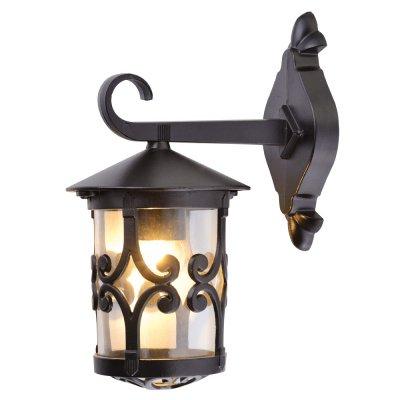 Уличный светильник Arte lamp A1452AL-1BK PersiaНастенные<br>Обеспечение качественного уличного освещения – важная задача для владельцев коттеджей. Компания «Светодом» предлагает современные светильники, которые порадуют Вас отличным исполнением. В нашем каталоге представлена продукция известных производителей, пользующихся популярностью благодаря высокому качеству выпускаемых товаров.   Уличный светильник Arte lamp A1452AL-1BK не просто обеспечит качественное освещение, но и станет украшением Вашего участка. Модель выполнена из современных материалов и имеет влагозащитный корпус, благодаря которому ей не страшны осадки.   Купить уличный светильник Arte lamp A1452AL-1BK, представленный в нашем каталоге, можно с помощью онлайн-формы для заказа. Чтобы задать имеющиеся вопросы, звоните нам по указанным телефонам. Мы доставим Ваш заказ не только в Москву и Екатеринбург, но и другие города.<br><br>Тип цоколя: E27<br>Количество ламп: 1<br>Ширина, мм: 16<br>Длина, мм: 22<br>Высота, мм: 32<br>Цвет арматуры: черный