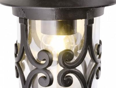 Потолочный светильник Arte lamp A1453PF-1BK PersiaПотолочные<br><br><br>S освещ. до, м2: 5<br>Тип товара: Светильник<br>Тип лампы: накаливания / энергосбережения / LED-светодиодная<br>Тип цоколя: E27<br>Количество ламп: 1<br>MAX мощность ламп, Вт: 100<br>Диаметр, мм мм: 160<br>Высота, мм: 250<br>Оттенок (цвет): Прозрачный<br>Цвет арматуры: черный