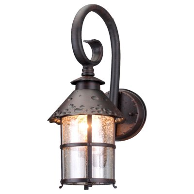 Уличный светильник Arte lamp A1462AL-1RI PragueНастенные<br>Обеспечение качественного уличного освещения – важная задача для владельцев коттеджей. Компания «Светодом» предлагает современные светильники, которые порадуют Вас отличным исполнением. В нашем каталоге представлена продукция известных производителей, пользующихся популярностью благодаря высокому качеству выпускаемых товаров.   Уличный светильник Arte lamp A1462AL-1RI не просто обеспечит качественное освещение, но и станет украшением Вашего участка. Модель выполнена из современных материалов и имеет влагозащитный корпус, благодаря которому ей не страшны осадки.   Купить уличный светильник Arte lamp A1462AL-1RI, представленный в нашем каталоге, можно с помощью онлайн-формы для заказа. Чтобы задать имеющиеся вопросы, звоните нам по указанным телефонам. Мы доставим Ваш заказ не только в Москву и Екатеринбург, но и другие города.<br><br>S освещ. до, м2: 7<br>Крепление: пластина<br>Тип лампы: накаливания / энергосбережения / LED-светодиодная<br>Тип цоколя: E27<br>Количество ламп: 1<br>Ширина, мм: 190<br>MAX мощность ламп, Вт: 100<br>Диаметр, мм мм: 250<br>Длина, мм: 250<br>Высота, мм: 440<br>Цвет арматуры: черный