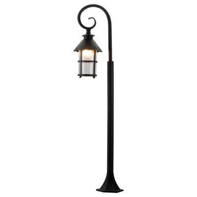 Уличный светильник Arte lamp A1466PA-1RI PragueОдиночные столбы<br>Обеспечение качественного уличного освещения – важная задача для владельцев коттеджей. Компания «Светодом» предлагает современные светильники, которые порадуют Вас отличным исполнением. В нашем каталоге представлена продукция известных производителей, пользующихся популярностью благодаря высокому качеству выпускаемых товаров.   Уличный светильник Arte lamp A1466PA-1RI не просто обеспечит качественное освещение, но и станет украшением Вашего участка. Модель выполнена из современных материалов и имеет влагозащитный корпус, благодаря которому ей не страшны осадки.   Купить уличный светильник Arte lamp A1466PA-1RI, представленный в нашем каталоге, можно с помощью онлайн-формы для заказа. Чтобы задать имеющиеся вопросы, звоните нам по указанным телефонам.<br><br>S освещ. до, м2: 7<br>Тип лампы: накаливания / энергосбережения / LED-светодиодная<br>Тип цоколя: E27<br>Количество ламп: 1<br>Ширина, мм: 190<br>MAX мощность ламп, Вт: 100<br>Диаметр, мм мм: 280<br>Длина, мм: 280<br>Высота, мм: 1200<br>Цвет арматуры: черный