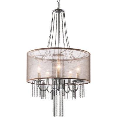Люстра подвесная Arte lamp A1475SP-5CC AmbienteПодвесные<br>Компания «Светодом» предлагает широкий ассортимент люстр от известных производителей. Представленные в нашем каталоге товары выполнены из современных материалов и обладают отличным качеством. Благодаря широкому ассортименту Вы сможете найти у нас люстру под любой интерьер. Мы предлагаем как классические варианты, так и современные модели, отличающиеся лаконичностью и простотой форм.  Стильная люстра Arte lamp A1475SP-5CC станет украшением любого дома. Эта модель от известного производителя не оставит равнодушным ценителей красивых и оригинальных предметов интерьера. Люстра Arte lamp A1475SP-5CC обеспечит равномерное распределение света по всей комнате. При выборе обратите внимание на характеристики, позволяющие приобрести наиболее подходящую модель. Купить понравившуюся люстру по доступной цене Вы можете в интернет-магазине «Светодом».<br><br>Установка на натяжной потолок: Да<br>S освещ. до, м2: 10<br>Крепление: Планка<br>Тип лампы: накаливания / энергосбережения / LED-светодиодная<br>Тип цоколя: E14<br>Цвет арматуры: серебристый<br>Количество ламп: 5<br>Диаметр, мм мм: 450<br>Длина цепи/провода, мм: 620<br>Высота, мм: 780<br>Оттенок (цвет): прозрачный серебристый<br>MAX мощность ламп, Вт: 40