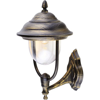 Уличный настенный светильник Arte lamp A1481AL-1BN BarcelonaНастенные<br>Обеспечение качественного уличного освещения – важная задача для владельцев коттеджей. Компания «Светодом» предлагает современные светильники, которые порадуют Вас отличным исполнением. В нашем каталоге представлена продукция известных производителей, пользующихся популярностью благодаря высокому качеству выпускаемых товаров.   Уличный светильник Arte lamp A1481AL-1BN не просто обеспечит качественное освещение, но и станет украшением Вашего участка. Модель выполнена из современных материалов и имеет влагозащитный корпус, благодаря которому ей не страшны осадки.   Купить уличный светильник Arte lamp A1481AL-1BN, представленный в нашем каталоге, можно с помощью онлайн-формы для заказа. Чтобы задать имеющиеся вопросы, звоните нам по указанным телефонам.<br><br>Тип цоколя: E27<br>Количество ламп: 1<br>Высота, мм: 50<br>Цвет арматуры: золотой