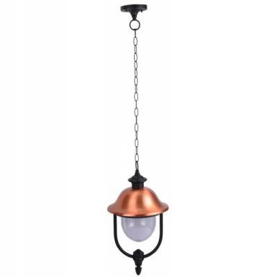 Светильник уличный Arte lamp A1485SO-1BK BarselonaПодвесные<br><br><br>S освещ. до, м2: 7<br>Тип товара: Светильник подвесной уличный<br>Тип лампы: накаливания / энергосбережения / LED-светодиодная<br>Тип цоколя: E27<br>Количество ламп: 1<br>Ширина, мм: 250<br>MAX мощность ламп, Вт: 100<br>Диаметр, мм мм: 250<br>Длина цепи/провода, мм: 670<br>Длина, мм: 250<br>Высота, мм: 360<br>Цвет арматуры: черный