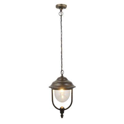 Уличный подвесной светильник Arte lamp A1485SO-1BN BarcelonaПодвесные<br>Обеспечение качественного уличного освещения – важная задача для владельцев коттеджей. Компания «Светодом» предлагает современные светильники, которые порадуют Вас отличным исполнением. В нашем каталоге представлена продукция известных производителей, пользующихся популярностью благодаря высокому качеству выпускаемых товаров.   Уличный светильник Arte lamp A1485SO-1BN не просто обеспечит качественное освещение, но и станет украшением Вашего участка. Модель выполнена из современных материалов и имеет влагозащитный корпус, благодаря которому ей не страшны осадки.   Купить уличный светильник Arte lamp A1485SO-1BN, представленный в нашем каталоге, можно с помощью онлайн-формы для заказа. Чтобы задать имеющиеся вопросы, звоните нам по указанным телефонам.<br><br>Тип цоколя: E27<br>Количество ламп: 1<br>Высота, мм: 40<br>Цвет арматуры: золотой