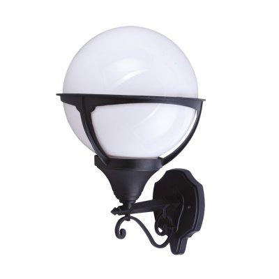 Светильник уличный Arte lamp A1491AL-1BK MonacoНастенные<br>Обеспечение качественного уличного освещения – важная задача для владельцев коттеджей. Компания «Светодом» предлагает современные светильники, которые порадуют Вас отличным исполнением. В нашем каталоге представлена продукция известных производителей, пользующихся популярностью благодаря высокому качеству выпускаемых товаров. <br> Уличный светильник Arte lamp A1491AL-1BK не просто обеспечит качественное освещение, но и станет украшением Вашего участка. Модель выполнена из современных материалов и имеет влагозащитный корпус, благодаря которому ей не страшны осадки. <br> Купить уличный светильник Arte lamp A1491AL-1BK, представленный в нашем каталоге, можно с помощью онлайн-формы для заказа. Чтобы задать имеющиеся вопросы, звоните нам по указанным телефонам.<br><br>S освещ. до, м2: 7<br>Тип лампы: накаливания / энергосбережения / LED-светодиодная<br>Тип цоколя: E27<br>Цвет арматуры: черный<br>Количество ламп: 1<br>Ширина, мм: 270<br>Диаметр, мм мм: 300<br>Длина, мм: 300<br>Высота, мм: 450<br>MAX мощность ламп, Вт: 100