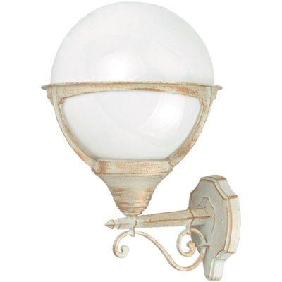 Светильник уличный Arte lamp A1491AL-1WG MonacoНастенные<br>Обеспечение качественного уличного освещения – важная задача для владельцев коттеджей. Компания «Светодом» предлагает современные светильники, которые порадуют Вас отличным исполнением. В нашем каталоге представлена продукция известных производителей, пользующихся популярностью благодаря высокому качеству выпускаемых товаров.   Уличный светильник Arte lamp A1491AL-1WG не просто обеспечит качественное освещение, но и станет украшением Вашего участка. Модель выполнена из современных материалов и имеет влагозащитный корпус, благодаря которому ей не страшны осадки.   Купить уличный светильник Arte lamp A1491AL-1WG, представленный в нашем каталоге, можно с помощью онлайн-формы для заказа. Чтобы задать имеющиеся вопросы, звоните нам по указанным телефонам.<br><br>S освещ. до, м2: 7<br>Тип лампы: накаливания / энергосбережения / LED-светодиодная<br>Тип цоколя: E27<br>Количество ламп: 1<br>Ширина, мм: 270<br>MAX мощность ламп, Вт: 100<br>Диаметр, мм мм: 300<br>Длина, мм: 300<br>Высота, мм: 440<br>Цвет арматуры: белый