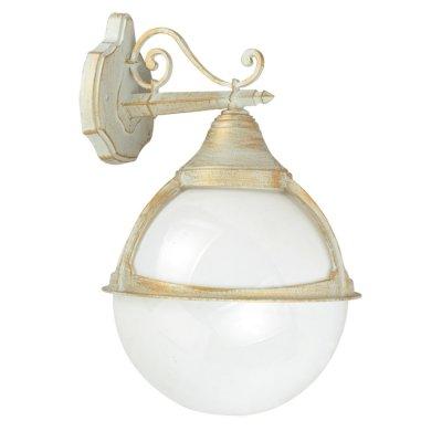 Светильник уличный Arte lamp A1492AL-1WG MonacoНастенные<br>Обеспечение качественного уличного освещения – важная задача для владельцев коттеджей. Компания «Светодом» предлагает современные светильники, которые порадуют Вас отличным исполнением. В нашем каталоге представлена продукция известных производителей, пользующихся популярностью благодаря высокому качеству выпускаемых товаров. <br> Уличный светильник Arte lamp A1492AL-1WG не просто обеспечит качественное освещение, но и станет украшением Вашего участка. Модель выполнена из современных материалов и имеет влагозащитный корпус, благодаря которому ей не страшны осадки. <br> Купить уличный светильник Arte lamp A1492AL-1WG, представленный в нашем каталоге, можно с помощью онлайн-формы для заказа. Чтобы задать имеющиеся вопросы, звоните нам по указанным телефонам.<br><br>S освещ. до, м2: 7<br>Тип лампы: накаливания / энергосбережения / LED-светодиодная<br>Тип цоколя: E27<br>Количество ламп: 1<br>Ширина, мм: 270<br>MAX мощность ламп, Вт: 100<br>Диаметр, мм мм: 300<br>Длина, мм: 300<br>Высота, мм: 440<br>Цвет арматуры: белый