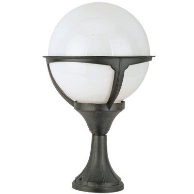 Светильник уличный Arte lamp A1494FN-1BK MonacoФонари на столб<br>Обеспечение качественного уличного освещения – важная задача для владельцев коттеджей. Компания «Светодом» предлагает современные светильники, которые порадуют Вас отличным исполнением. В нашем каталоге представлена продукция известных производителей, пользующихся популярностью благодаря высокому качеству выпускаемых товаров. <br> Уличный светильник Arte lamp A1494FN-1BK не просто обеспечит качественное освещение, но и станет украшением Вашего участка. Модель выполнена из современных материалов и имеет влагозащитный корпус, благодаря которому ей не страшны осадки. <br> Купить уличный светильник Arte lamp A1494FN-1BK, представленный в нашем каталоге, можно с помощью онлайн-формы для заказа. Чтобы задать имеющиеся вопросы, звоните нам по указанным телефонам.<br><br>S освещ. до, м2: 7<br>Тип лампы: накаливания / энергосбережения / LED-светодиодная<br>Тип цоколя: E27<br>Цвет арматуры: черный<br>Количество ламп: 1<br>Ширина, мм: 270<br>Диаметр, мм мм: 270<br>Длина, мм: 270<br>Высота, мм: 450<br>MAX мощность ламп, Вт: 100